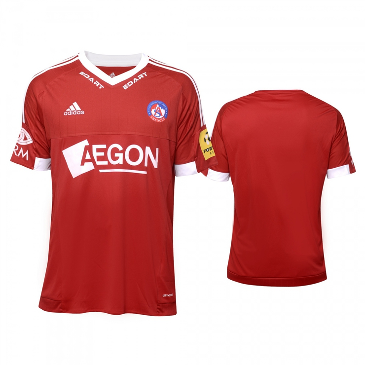 AS Trenčín original red jersey 2016/2017