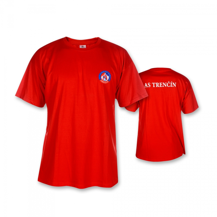 T-Shirt AS TRENCIN red