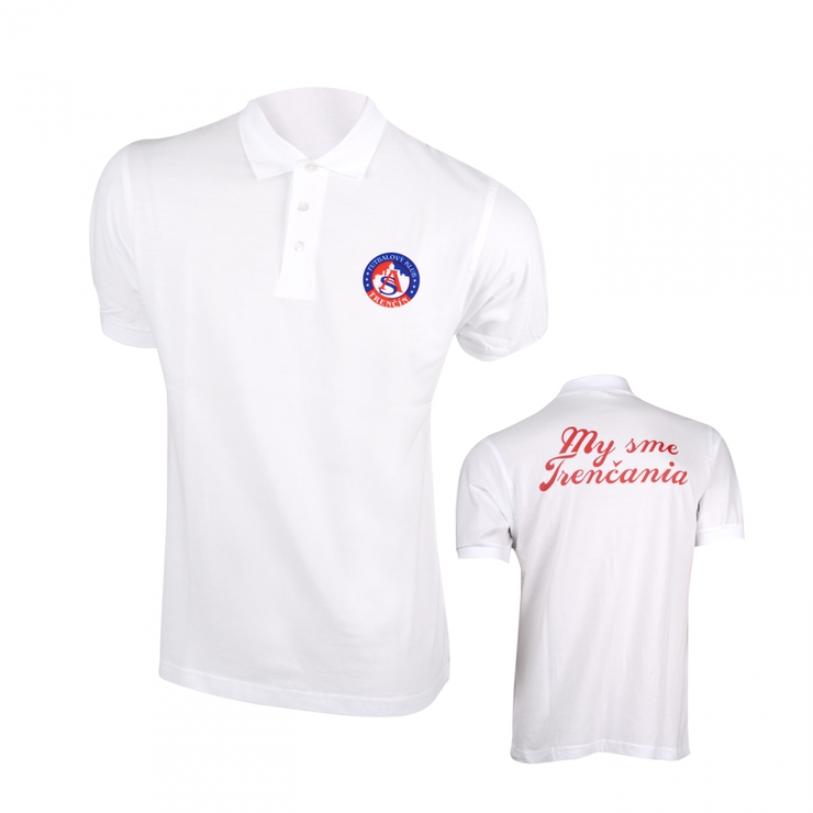 Poloshirt AS TRENCIN white