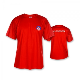 T-Shirt AS TRENCIN red for children