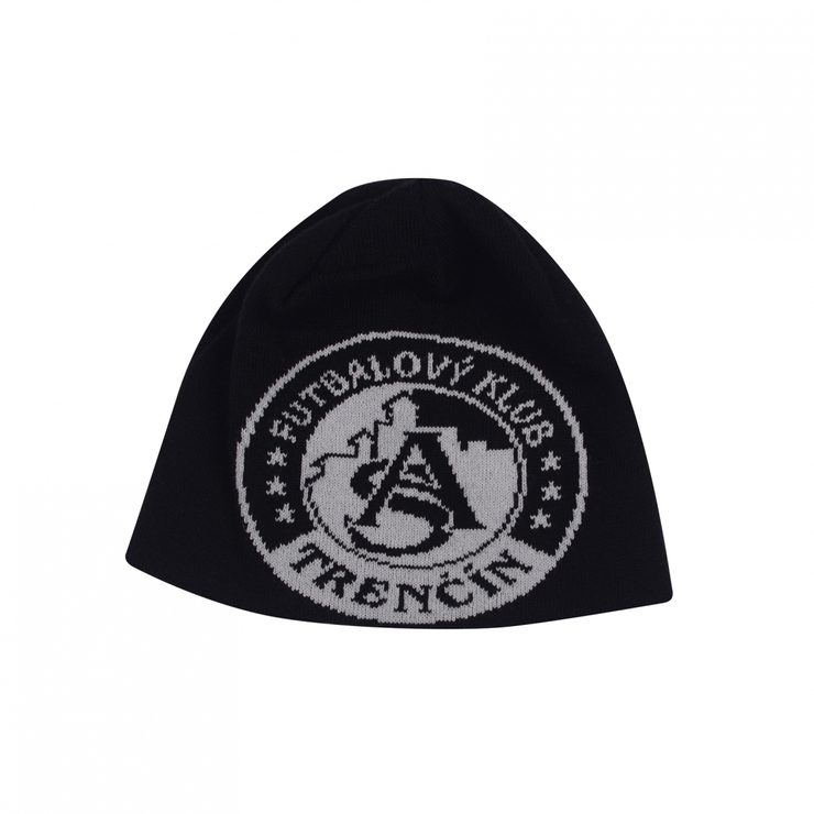 Winter cap AS Trenčín black