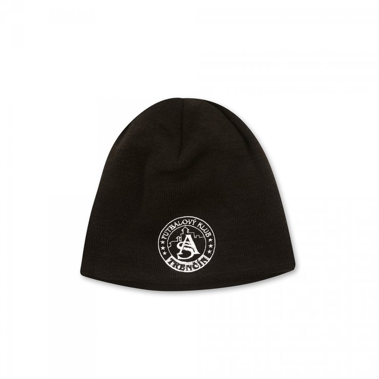 Winter cap AS Trenčín black with logo