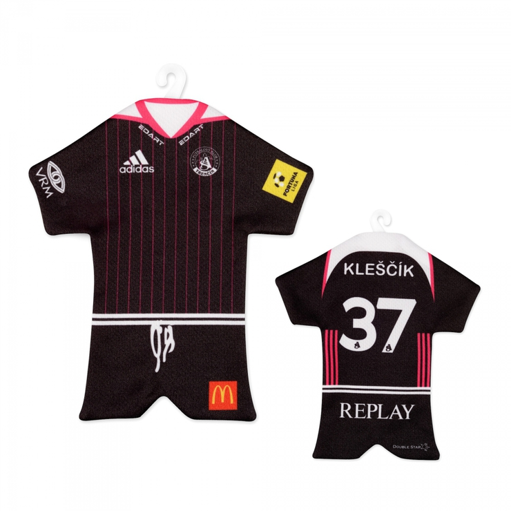 Minijersey black with player name 2017/18