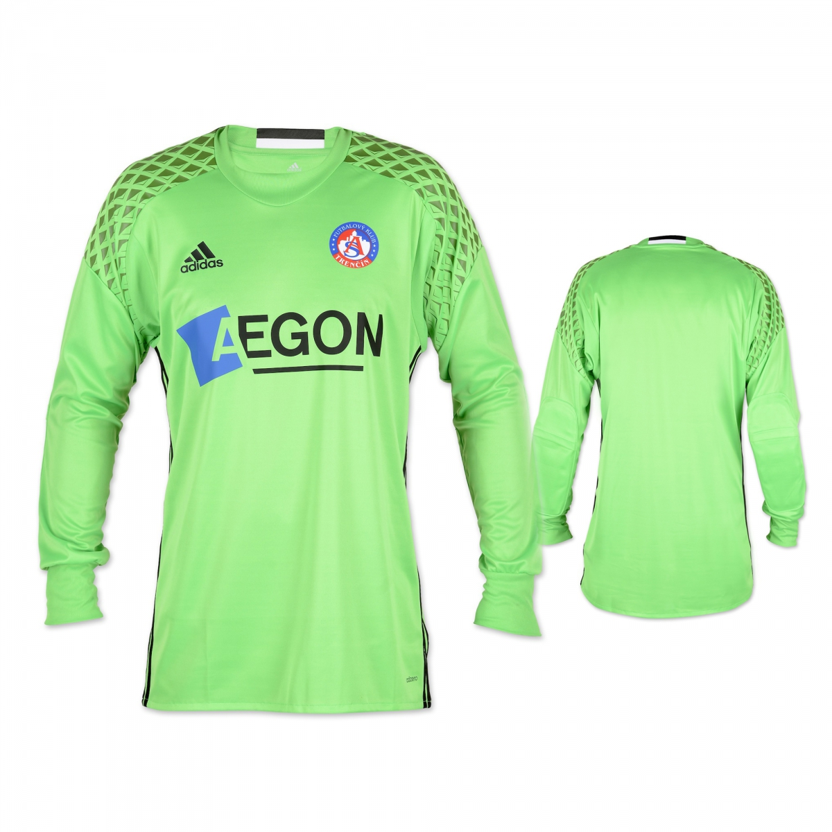 AS Trenčín goalkeeper jersey 2016/2017