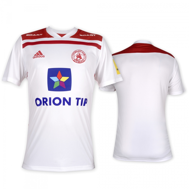 AS Trenčín original white jersey 2018/2019