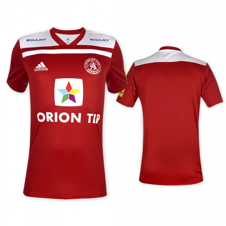 AS Trenčín original red jersey 2018/2019