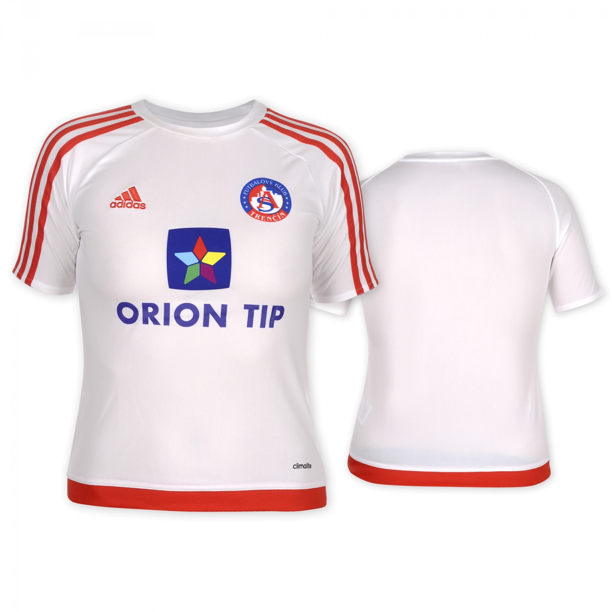 AS Trenčín white fan jersey for kids