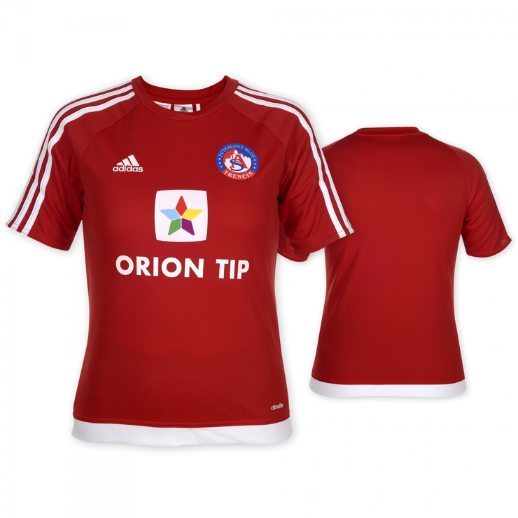 AS Trenčín red fan jersey for kids