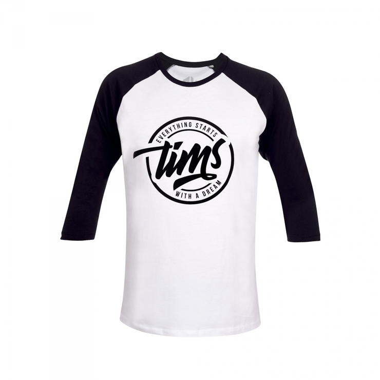 TIMS T-Shirt with 3/4 sleeve