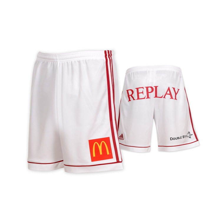 AS Trencin white shorts original