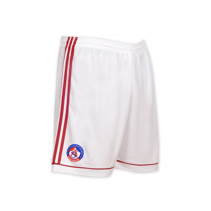 AS Trencin original white shorts with logo